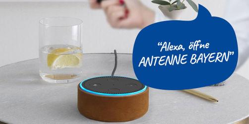 Amazon Echo: Mit diesen Sprachbefehlen nutzt ihr ANTENNE BAYERN