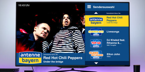 ANTENNE BAYERN Smart TV App