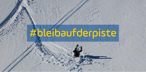 #bleibaufderpiste: Indras Appell an alle Wintersportler abseits der Pisten