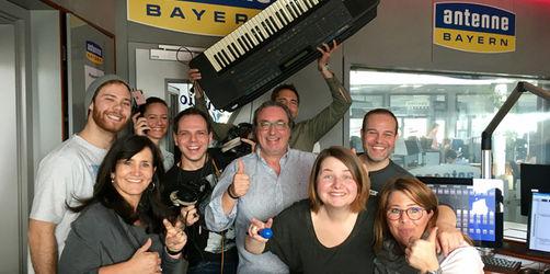 Unsinniger Donnerstag: Da spielt bei ANTENNE BAYERN sogar die Technik verrückt