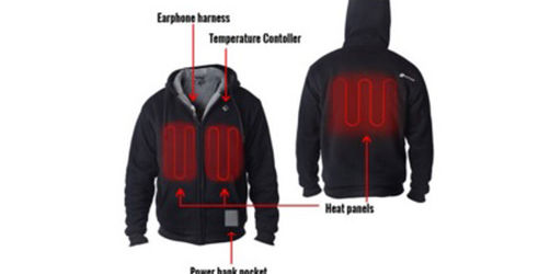 MUST HAVE für den Winter: Der Heiz-Hoodie