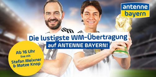 Der lustigste WM-Kommentar Deutschlands: Unser Spiel gegen Südkorea LIVE auf ANTENNE BAYERN