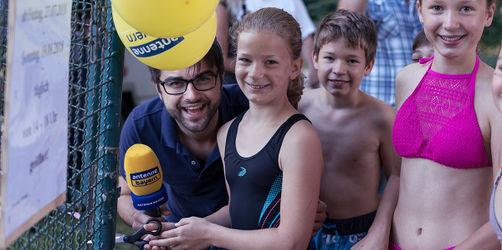 Freibadrettung - Leiki hat's geschafft: Aholfing in Niederbayern hat einen neuen Bademeister