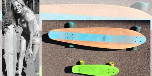 Longboards und Pennyboards