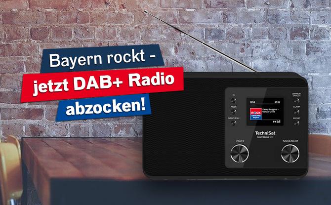 Bayern rockt: Holt euch ein DAB Plus Radio für den besten Rock nonstop auf ROCK ANTENNE Bayern!