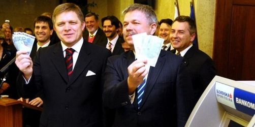 Slowakei ist erstes Ex-Ostblockland mit Euro