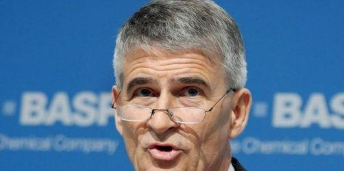 BASF-Chef: Politik muss auf Banken Einfluss nehmen