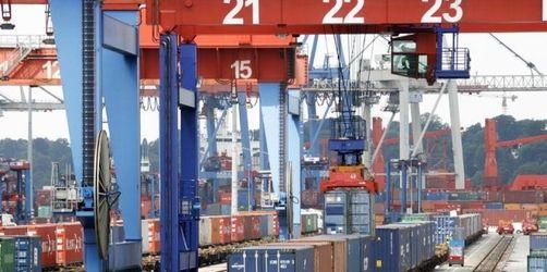 Deutsche Exporte brechen zweistellig ein