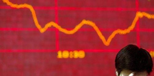 Börsen in Hongkong, China und Taiwan auf Talfahrt