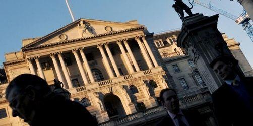 Britischer Zins auf Rekordtief von 1, 5 Prozent