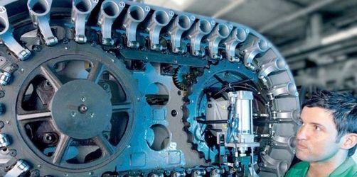 Industrieumsatz stark eingebrochen