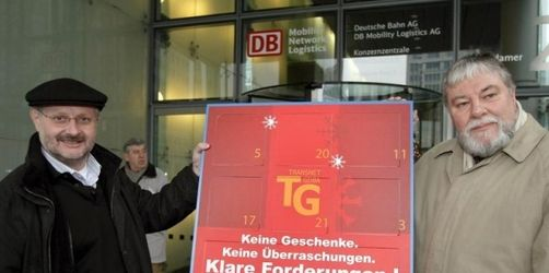 Tarifstreit: Gewerkschaften drohen Bahn mit Streik