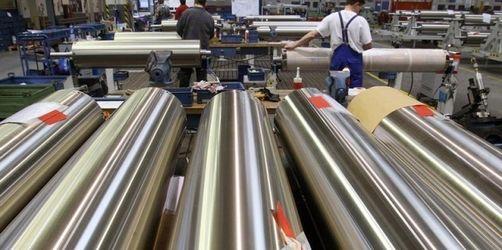 Aufträge im deutschen Maschinenbau brechen ein