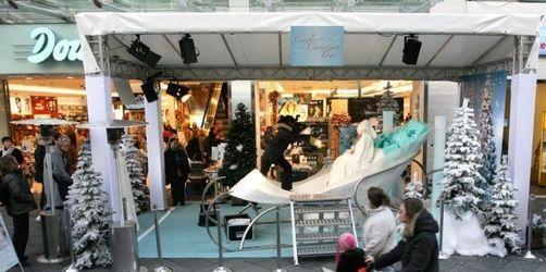 Handelskonzerne mit Weihnachtsgeschäft zufrieden