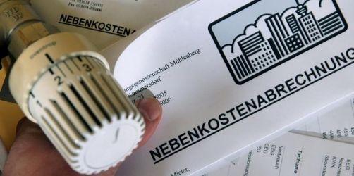 Mietrecht: Wohnnebenkosten - Mieter sollten Rechnung genau prüfen