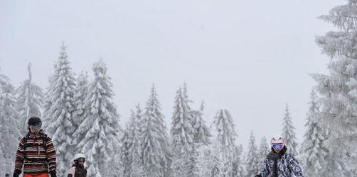 Sicher in den Winterurlaub: Skier in der Dachbox festzurren