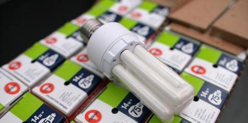 Was tun wenn eine Energiesparlampe zerbricht?