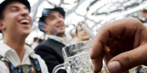 Rauchen auf der Wiesn - Das sind die Regelungen (und Möglichkeiten) 2012