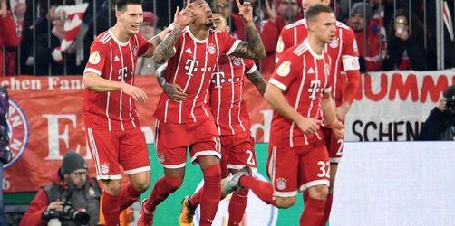 Bayern, Werder, Frankfurt und Leverkusen im Viertelfinale