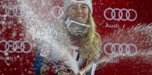Shiffrin gewinnt auch Flutlicht-Slalom in Flachau