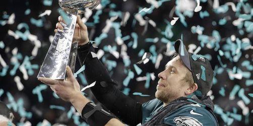 Philadelphia entthront Patriots bei Super-Bowl-Spektakel