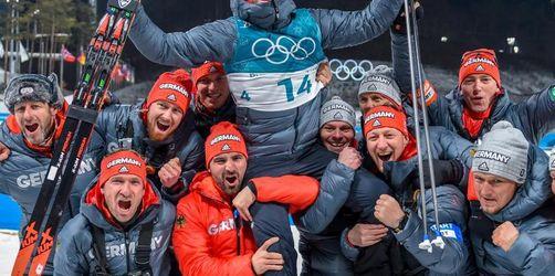 Silber für Biathlet Schempp - Norwegen überholt Deutschland
