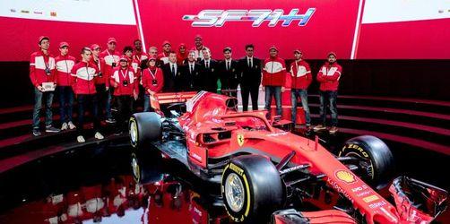 Formel 1 legt los: Neuer Silberpfeil und Ferrari vorgestellt
