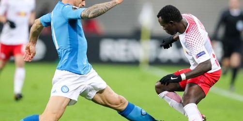 RB Leipzig trotz Niederlage gegen Neapel weiter