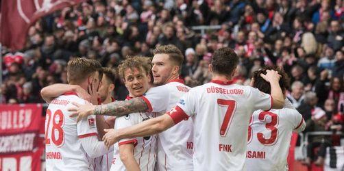 Düsseldorf wieder Spitzenreiter - Heidenheim verspielt 2:0