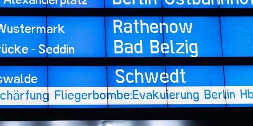 Bombenentschärfung legt Teile Berlins lahm