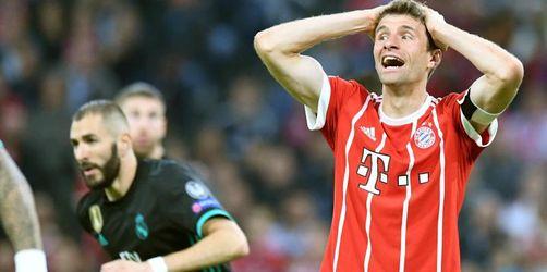 Champions-League: FC Bayern München verliert im Halbfinal-Hinspiel gegen Real Madrid