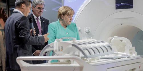 Merkel in China: Mehr Datensicherheit in Kooperation nötig