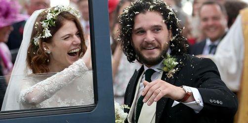 Kit Harington und Rose Leslie haben geheiratet