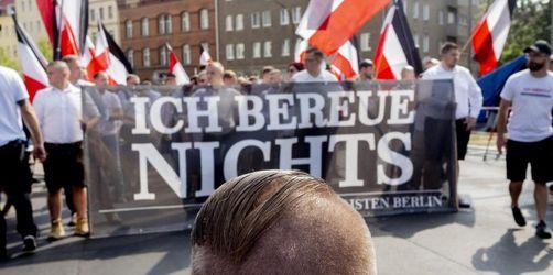 Stein- und Flaschenwürfe bei Protest gegen Neonazi-Aufmarsch