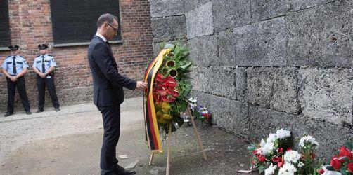 Maas ruft nach Auschwitz-Besuch zu mehr Zivilcourage auf