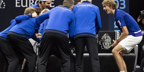 Zverev dreht Match - Team Europa gewinnt Laver Cup