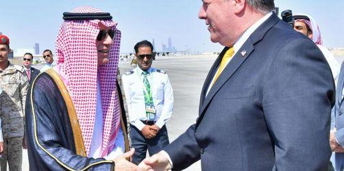 Fall Chaschukdschi: Pompeos Krisentreffen in Saudi-Arabien