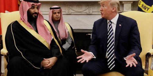 Proteste im Kongress gegen Trumps Kuschelkurs mit Riad