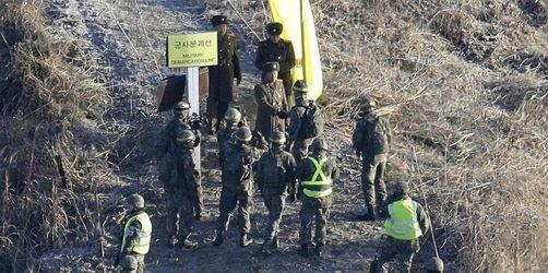 Beide Koreas überprüfen Abrüstung von Grenzkontrollposten