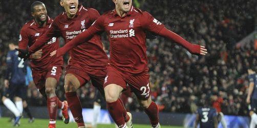 Liverpool siegt 3:1 - Hasenhüttl stoppt Arsenal