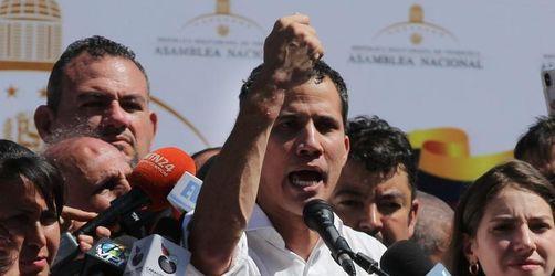 Machtprobe in Venezuela: USA und EU stützen Opposition