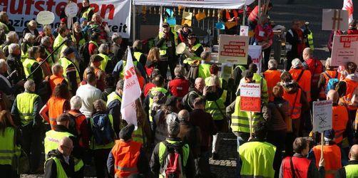 Rund 2000 Teilnehmer an «Bunte Westen»-Demos in Deutschland