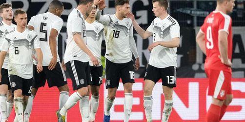 Viel Arbeit für Löw: DFB-Elf verschenkt Sieg gegen Serbien
