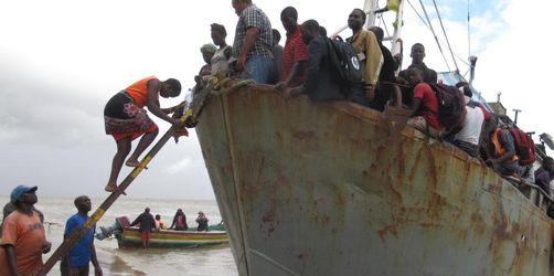 Nach Zyklon: Helfer warnen in Mosambik vor Krankheiten