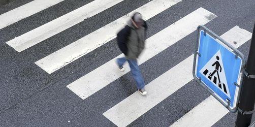 Fußgänger sind im Straßenverkehr am stärksten gefährdet