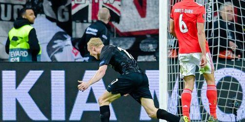 Frankfurt nach Aufholjagd gegen Benfica im Halbfinale