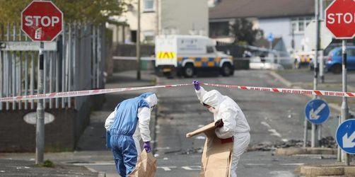 Frau bei «terroristischem Vorfall» in Nordirland erschossen