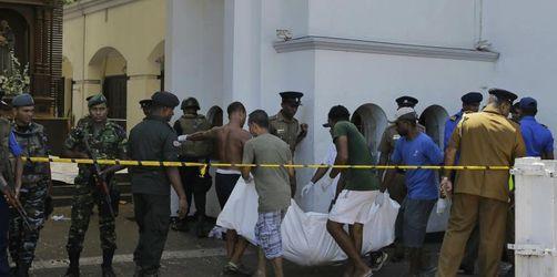 Angriffe auf Kirchen und Hotels in Sri Lanka: Über 190 Tote