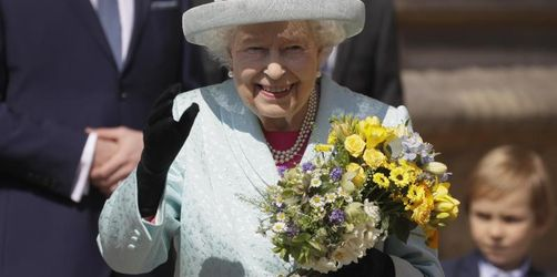Queen am 93. Geburtstag beim Ostergottesdienst