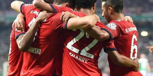Bayern gewinnen packendes Halbfinale mit 3:2 gegen Bremen